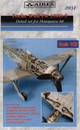 Aires 1/32 Focke-Wulf Fw 190D-9 Detail Set