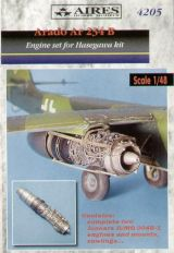 Aires 1/48 Arado Ar234B Engine Set