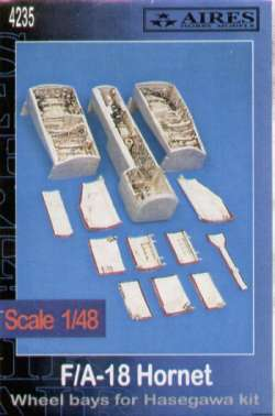 Aires 1/48 F/A-18 Hornet Wheel Bays