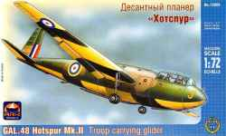 Ark Models 1/72 GAL.48 Hotspur Mk.II Troop Carrying Glider