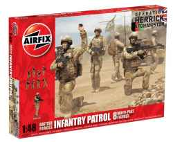 Airfix 1/48 British Forces Infantry Patrol