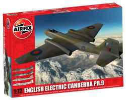 Airfix 1/72 English Electric Canberra PR.9