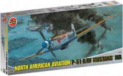 Airfix 1/24 North American P-51D/K Mustang IVA