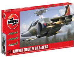 Airfix 1/24 Hawker Siddeley Harrier GR.3/AV.8A