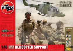 Airfix 1/48 British Forces Lynx Helicopter Support Group