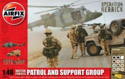 Airfix 1/48 British Forces Patrol and Support Group