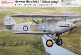 "AZ Model 1/72 Hawker Hind Mk.I ""Silver Wing"""