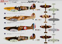 "AZ Model 1/72 Supermarine Spitfire Mk.I ""Late"""