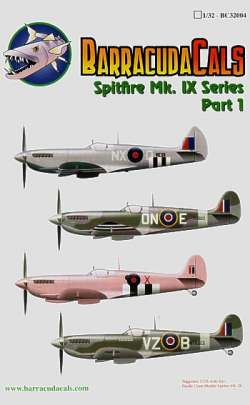 BarracudaCals 1/48 Spitfire Mk.IX Series Part 1