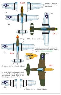 BarracudaCals 1/32 P-51D Mustangs Part 1