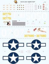 Bombshell Decals 1/48 Corsica B-25J Mitchell Bombers Part 1
