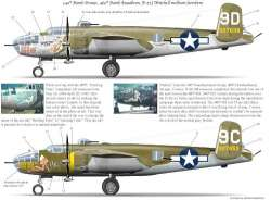 Bombshell Decals 1/48 Corsica B-25J Mitchell Bombers Part 2