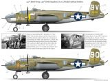 Bombshell Decals 1/48 Corsica B-25J Mitchell Bombers Part 3