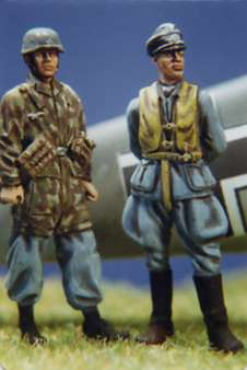DMM 1/48 Luftwaffe Pilot and Paratrooper