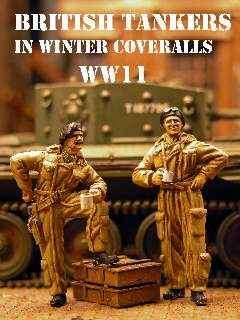 DMM 1/48 British Tankers in Winter Coveralls