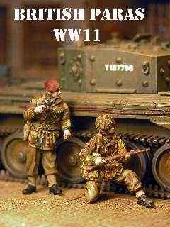 DMM 1/48 British Paratroops