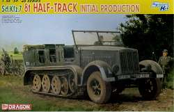Dragon 1/35 Sd.Kfz.7 German 8 Ton Half-Track Initial Production