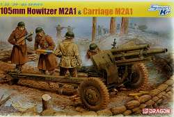 Dragon 1/35 105mm Howitzer M2A1 & Carriage M2A1