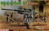 Dragon 1/35 German 88mm Flak 37 mit Behelfslafette