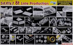 Dragon 1/35 Sd.Kfz.7 8t Late Production Half Track