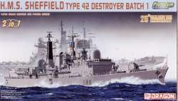 Dragon 1/700 HMS Sheffield Type 42 Destroyer