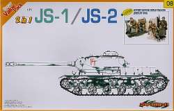 Dragon 1/35 JS-1/JS-2 Russian Tank + Bonus Figures