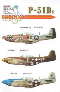 EagleCals 1/32 P-51D Decals