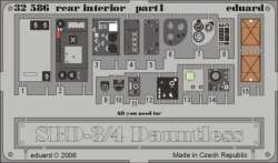 Eduard 1/32 Douglas SBD-3/SBD-4 Dauntless Rear Interior Detail Set
