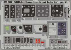 Eduard 1/32 Douglas SBD-3/SBD-4 Dauntless Front Interior Detail Set
