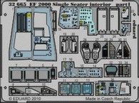 Eduard 1/32 Eurofighter Typhoon EF2000 Interior Detail Set