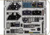 Eduard 1/32 Swordfish Mk.II Interior Detail Set