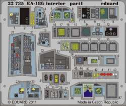 Eduard 1/32 EA-18G Growler Interior Photo-Etch Set (Trumpeter)