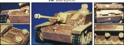 Eduard 1/35 Sturmgeschutz/StuG IIIG Zimmerit Photo-Etch Detail Set