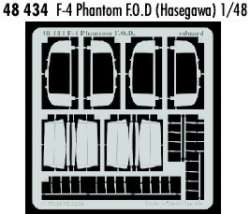 Eduard 1/48 F-4 Phantom Photo Etch F.O.D.