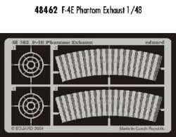 Eduard 1/48 F-4E Phantom Exhaust Photo-Etch Set