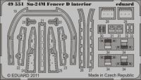 Eduard 1/48 Su-24M Fencer D Interior Detail Set