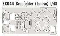 Eduard 1/48 Bristol Beaufighter Paint Mask Set