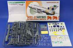 Eduard 1/48 MiG-21MF/BIS in Indian Service