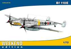 "Eduard 1/72 Messerschmitt Bf 110E ""Weekend Edition"""