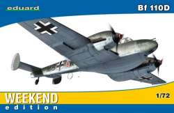 "Eduard 1/72 Messerschmitt Bf 110D ""Weekend Edition"""