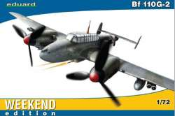 "Eduard 1/72 Messerschmitt Bf 110G-2 ""Weekend Edition"""