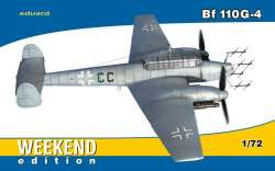 "Eduard 1/72 Messerschmitt Bf 110G-4 ""Weekend Edition"""