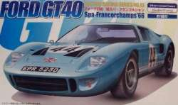 "Fujimi 1/24 Ford GT40 ""Spa-Francorchamps 1966"""