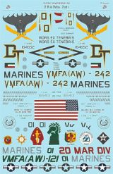 Flying Leathernecks 1/32 F/A-18D Hornet Decals- Deltas Part 1