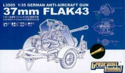 Great Wall Hobby 1/35 German Anti-Aircraft Gun 37mm FLAK 43