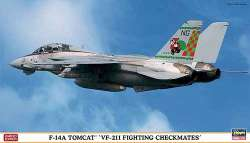 "Hasegawa 1/72 F-14A Tomcat ""VF-211 Fighting Checkmates"""