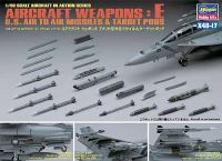 Hasegawa 1/48 Aircraft Weapons E: US Missiles & Target Pods