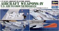 Hasegawa 1/72 Aircraft Weapons IV: US Air to Ground Missiles