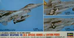 Hasegawa 1/72 Aircraft Weapons VII: US Special Bombs/LANTIRN Pod