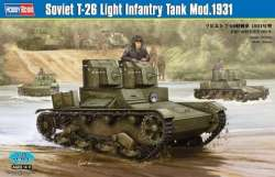Hobby Boss 1/35 Soviet T-26 Light Infantry Tank Mod.1931
